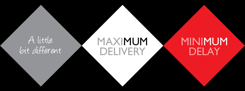 MaxiMUM Delivery, MiniMUM Delay